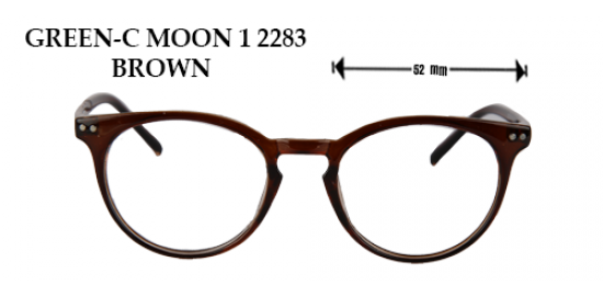 GREEN-C MOON 1 2283 BROWN