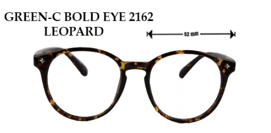 GREEN C-BLOD EYE 2162 LEOPARD