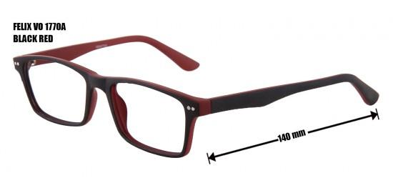 FELIX VO 1770A BLACK RED