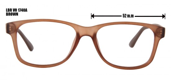 LBR VO 1740A BROWN