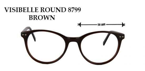 VISIBELE ROUND 8799 BROWN