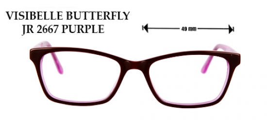 VISIBELLE BUTTERFLY 2667 PURPLE