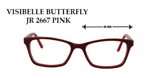 VISIBELLE BUTTERFLY JR 2667 PINK