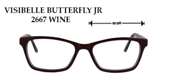 VISIBELLE BUTTERFLY JR 2667 WINE