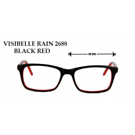 VISIBELLE RAIN 2668 BLACK RED