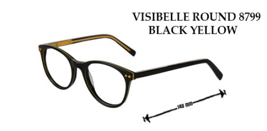 VISIBELLE ROUND 8799 BLACK YELLOW