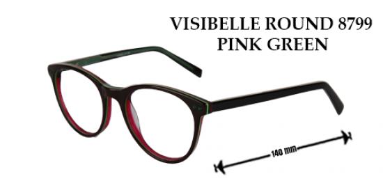 VISIBELLE ROUND 8799 PINK GREEN